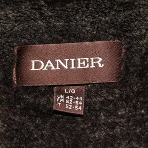 Warm Danier leather coat